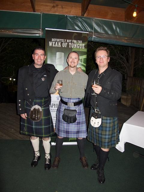 John, me, and Simon
