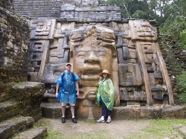 Us at the Mask Temple