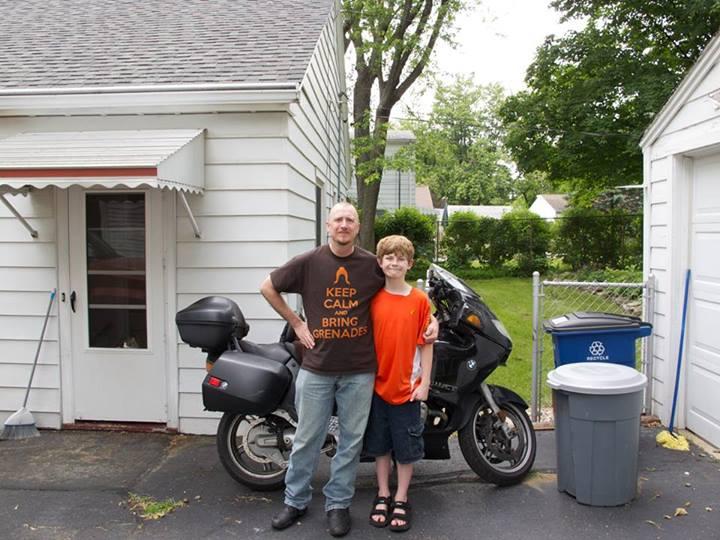 Pat and Reese, June 2013