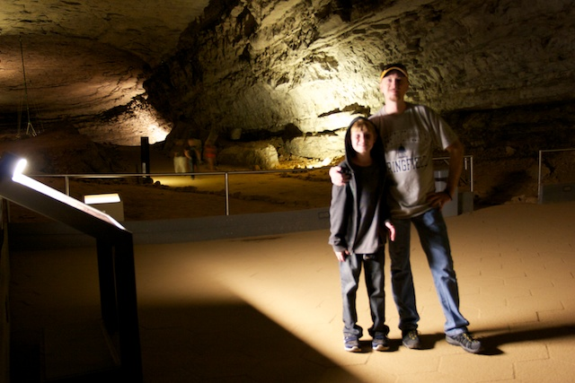 Reese and I at Mammoth Cave