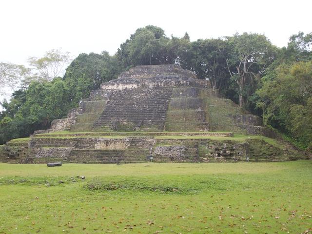 The Jaguar Temple.