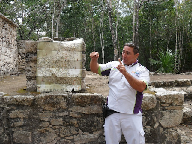 Raul, our guide on the Coba tour.